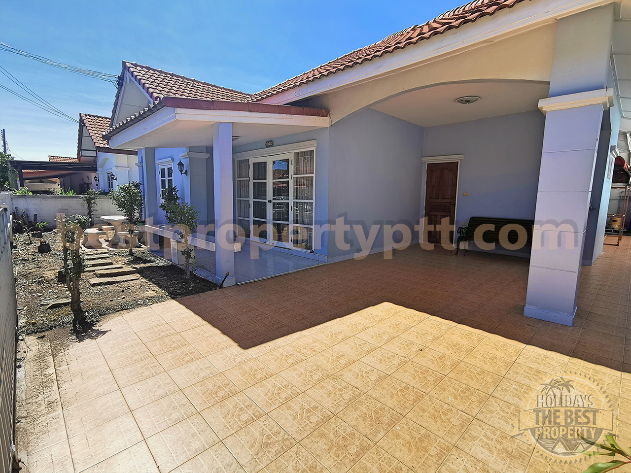 House in Bangsaray, 5-minute drive to the Sea
