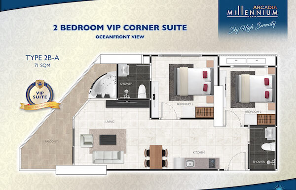 Arcadia-Millennium-Tower-roomplan-2B-A